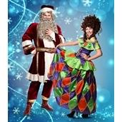 Kalėdų senelis ir Arlekina