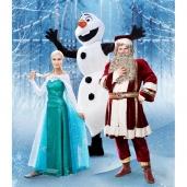 Besmegenio Olafo ir princesės Elzos kelionė